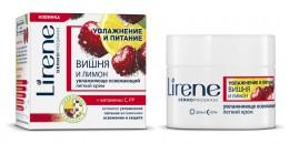 Увлажняюще-освежающий легкий крем для лица день/ночь, ВИШНЯ И ЛИМОН